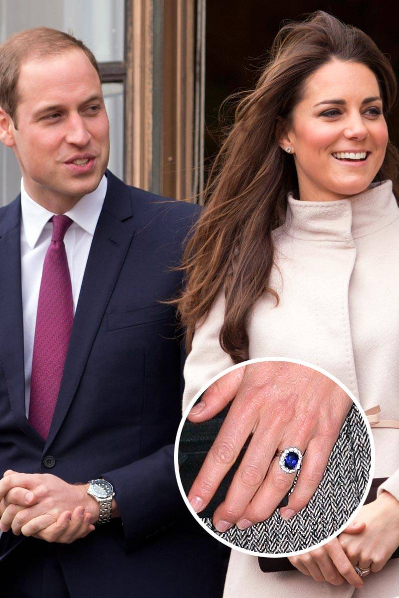 Most Epic Engagement Rings Celebs Fashion Mag