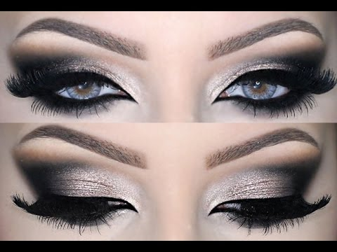 How To Apply Dramatic Smokey Eyes Makeup