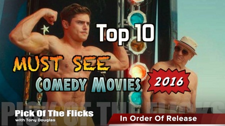 Top 10 Comedy Movies 2016