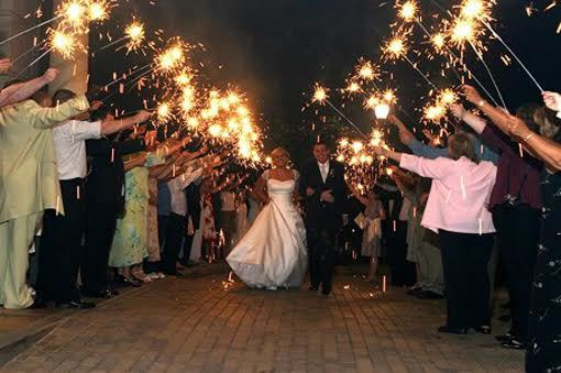 Why Are 36 Wedding Sparklers The Most Popular Choice