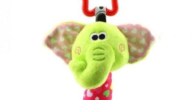 Baby Stuffed Toy With Rattle Tinkle Bell
