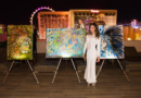 RENOWNED ARTIST, GILDA GARZA HOSTS ART EXHIBITION IN CELEBRATION OF OMNIA'S THIRD ANNIVERSARY
