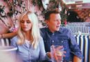 Christopher Egan & Hanna Griffiths lunching at The Beverly Hills Hotel