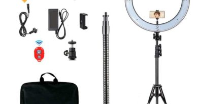 MountDog 18 Inch Ring Light : Get better selfies for your videos and more