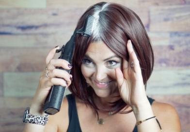 Best Gift for Mom – Covering the Gray by Combing your Hair