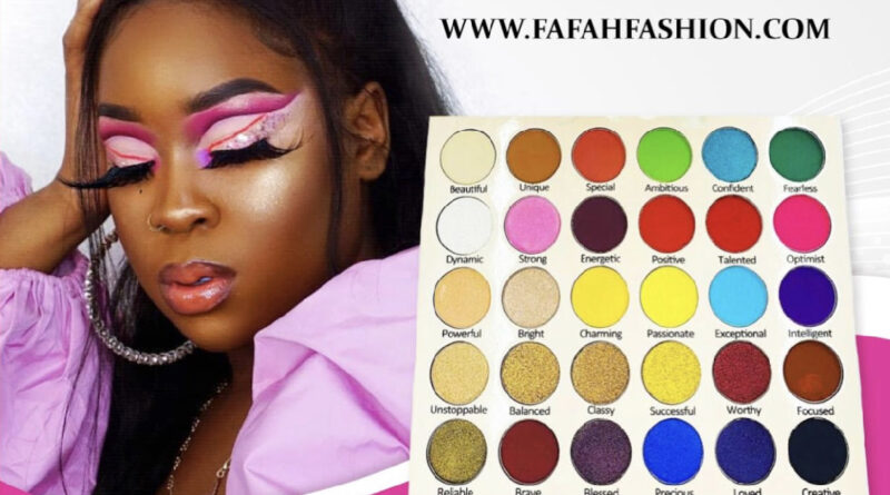 Fafah Affirmation Eyeshadow Palette ! Eyeshades For Every Personalty