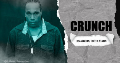 Listen to the Creative Expertise of Los Angeles Hip Hop Artist Crunch's Lyrically-Enriched Soundscape